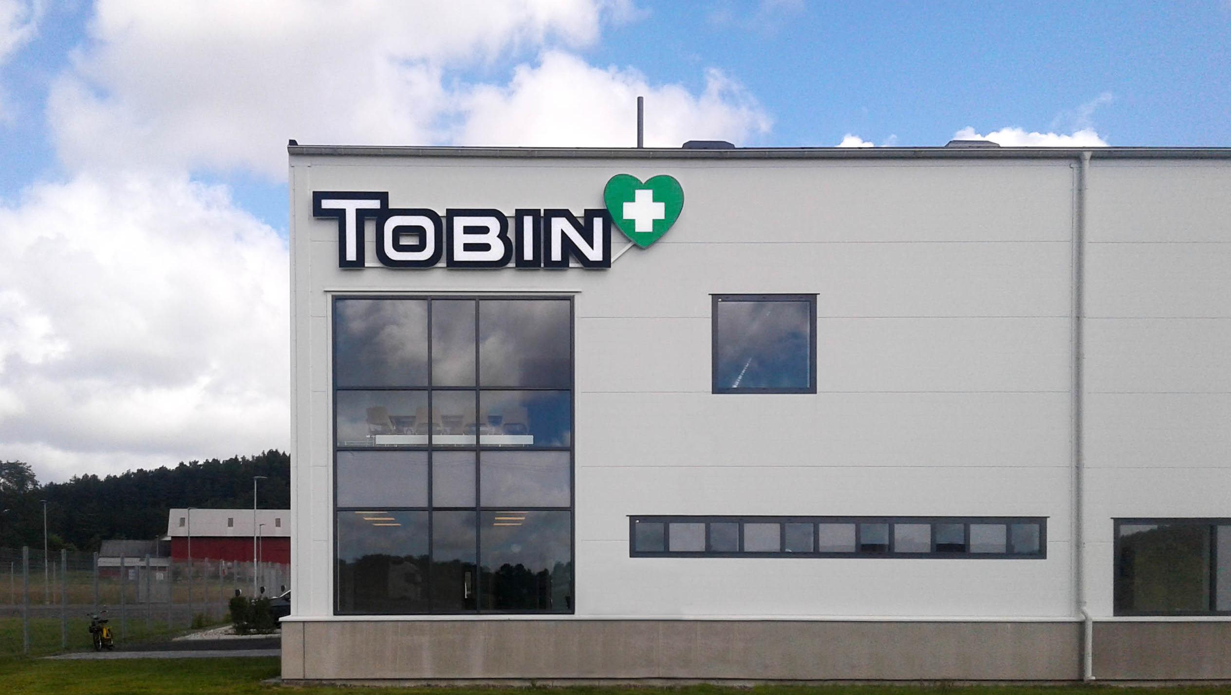 Tobin i Kungälv lyser upp ordentligt