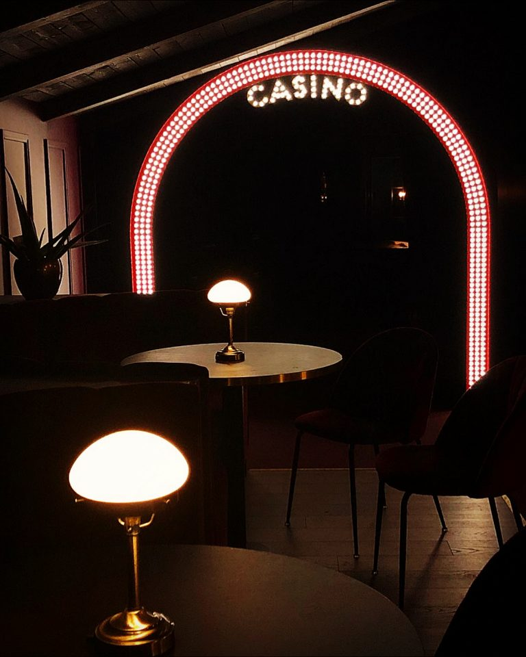 Casinoskylt